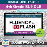 4th Grade Reading Fluency in a Flash Bundle • Digital Fluency Mini Lessons