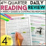 4th Grade Reading Homework 4th Grade Morning Work Reading