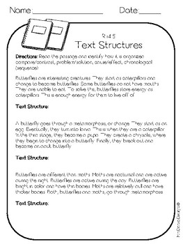 4th Grade Reading Informational Text Printables- Assessments-Common Core Aligned