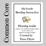 4th Grade Reading Common Core Instruction Planning Guide With Success Criteria