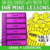 Interactive Notebook with Mini Lessons - 4th Literature Co