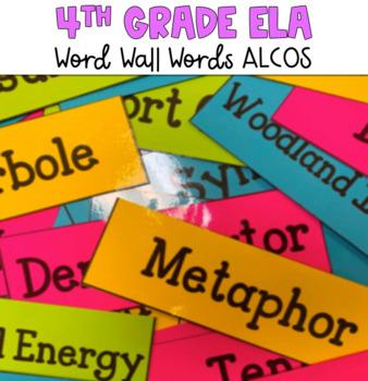 4th Grade Reading/LA Word Wall