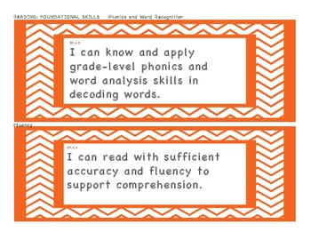 I Can Statements 4th grade  4th grade I can statement Common Core Standards