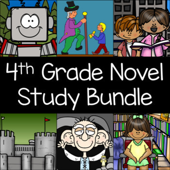 4th Grade Reading Level Book Unit Bundle