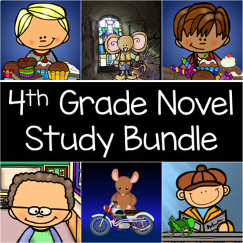 4th Grade Reading Level Interactive Notebook and Activity Book Unit Series