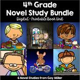 4th Grade Reading Level Novel Study Bundle Set 1