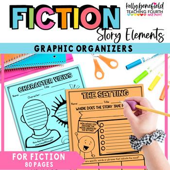 Common Core: Reading Graphic Organizers for Literature Grades 3-5