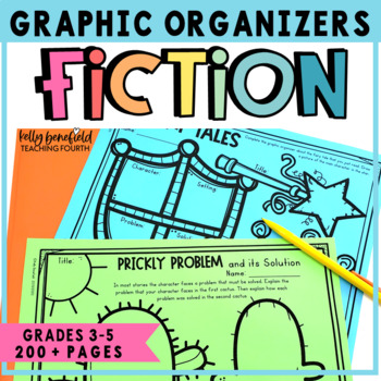 Reading Graphic Organizers for Reading Comprehension: Literature Grades 3-5