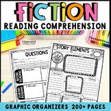 Reading Graphic Organizers: Reading Literature Grades 3-5