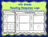 4th Grade Reading Response Logs with 4th Grade Reading Com