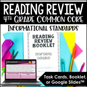 4th Grade Reading Review | Informational Reading Review