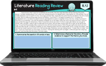 4th Grade Reading Review (Literature)