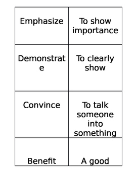 4th Grade Reading STAAR Vocabulary