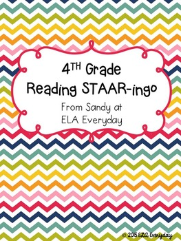 4th Grade Reading STAAR-ingo Pack