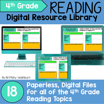 4th Grade Reading Standards Digital Resource Library