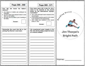 4th Grade Reading Street Activity Pack - Unit 6
