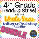 4th Grade Reading Street | Spelling and Vocabulary | BUNDLE