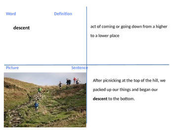 "4th Grade Reading Street ""Cliff Hanger"" Unit 5 Week 3 Vocab Powerpoint"