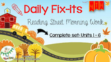 4th Grade Reading Street Daily Fix-it {Bundle}