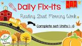 4th Grade Reading Street Daily Fix-it {Bundle}