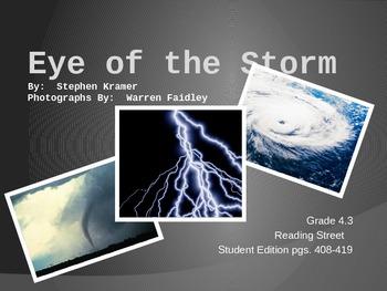 4th Grade Reading Street:  Eye of the Storm
