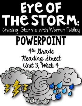"4th Grade Reading Street ""Eye of the Storm"" PowerPoint Pre"