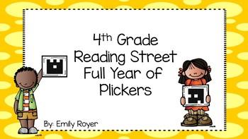 4th Grade Reading Street-Full Year of Plickers