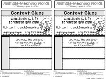 4th Grade Reading Street Interactive Notebook Unit 3: Common Core Edition