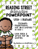 4th Grade Reading Street Interactive PowerPoints {Unit 1 Bundle}