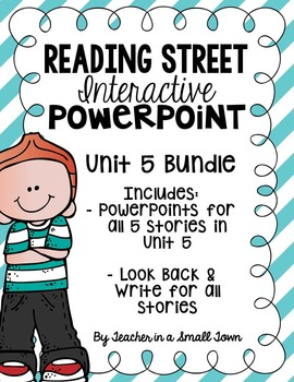 4th Grade Reading Street Interactive PowerPoints {Unit 5 Bundle}