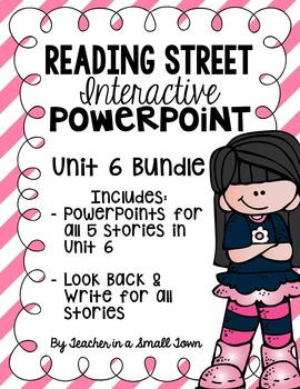4th Grade Reading Street Interactive PowerPoints {Unit 6 Bundle}