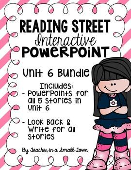 4th Grade Reading Street Interactive PowerPoints {Unit 6 Bundle}