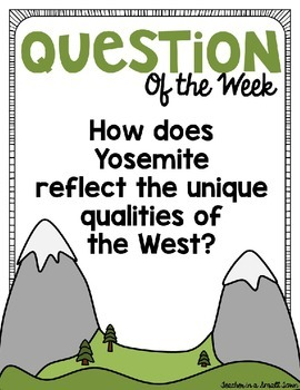 """4th Grade Reading Street """"Letters Home From Yosemite"""" PowerPoint Presentation"""