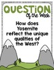 """4th Grade Reading Street """"Letters Home From Yosemite"""" Powe"""