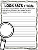 4th Grade Reading Street Look Back & Writes for Unit 4