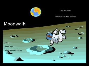 4th Grade Reading Street PPT: Moonwalk