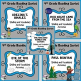 4th Grade Reading Street Spelling and Vocab Unit 3 Bundle (printable only)