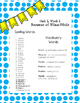 4th Grade Reading Street Spelling and Vocabulary Words List Unit 1