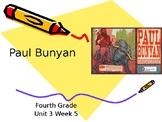 4th Grade- Reading Street- U3W5-Paul Bunyan Vocabularies P