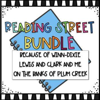 4th Grade Reading Street Unit 1 Volume 1 Story Bundle