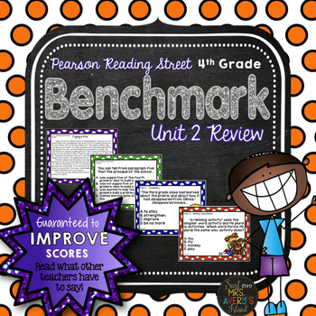 4th Grade Reading Street Unit 2 Benchmark Assessment Review