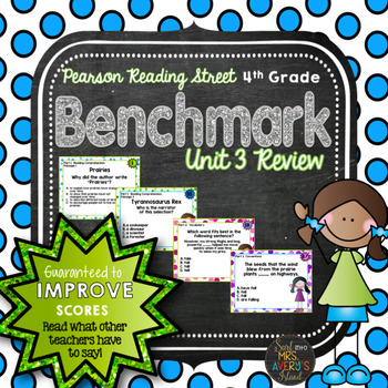 4th Grade Reading Street Unit 3 Benchmark Assessment Review