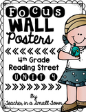 4th Grade Reading Street Unit 4 Focus Wall Posters