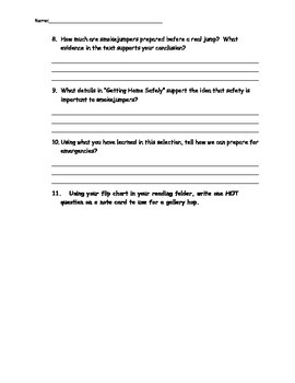 4th Grade Reading Street Unit 5 Complete Guided Reading Packet