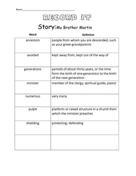 4th Grade Reading Street Unit 6 Complete Guided Reading Packet