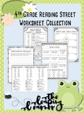 4th Grade Reading Street Worksheet Collection - Editable