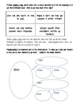 4th Grade Reading Street Writing:  2.2 Opinion Essay
