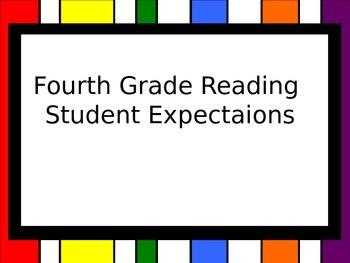 4th Grade Reading TEKS (Student Expectations)