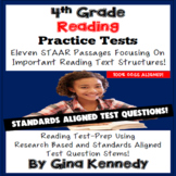 4th Grade Reading Practice Tests, Eleven State Standardized Practice Exams!