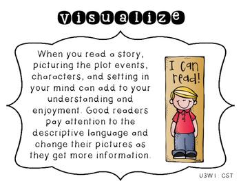 4th Grade Reading Wonders Focus Wall Strategies - Unit 3